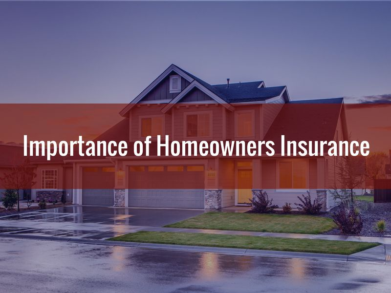 The Importance of Homeowners Insurance - Alternative Insurance Agency 800x600