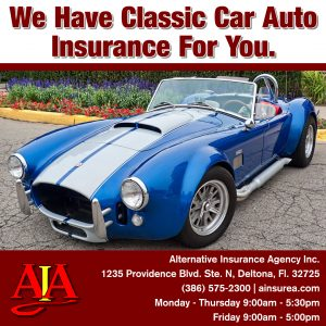 Classic Car insurance by Alternative Insurance Agency